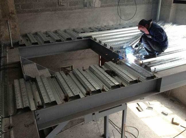 原钢结构设计焊接连接改为螺栓连接